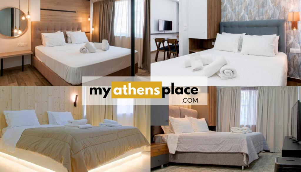 A room at My Athens Place