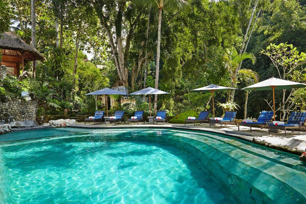 The swimming pool at or near Hotel Tjampuhan Spa