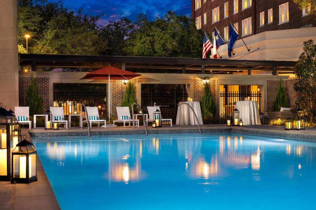 The swimming pool at or near Warwick Melrose Hotel