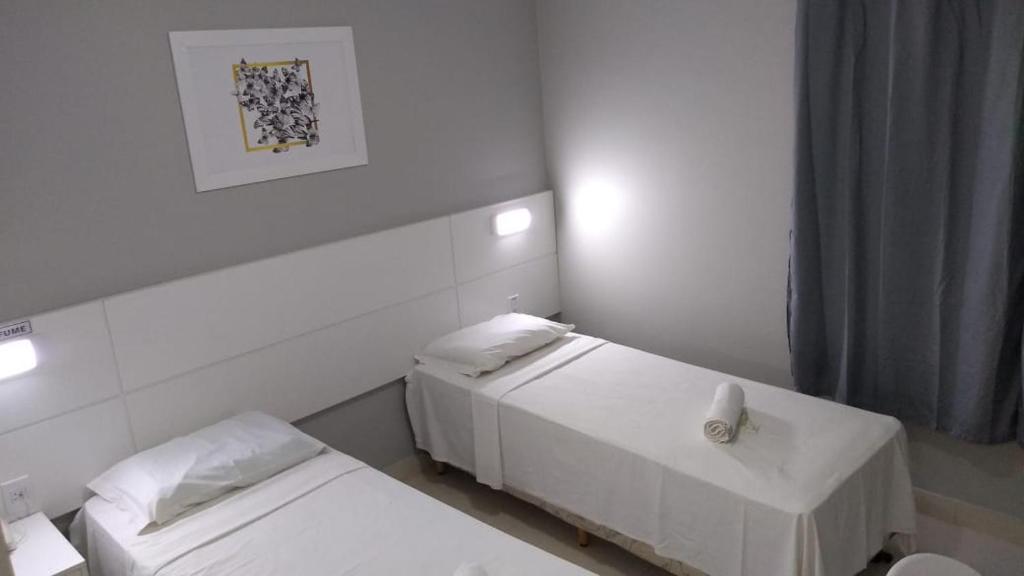 Um banheiro em Plattinum Hotel