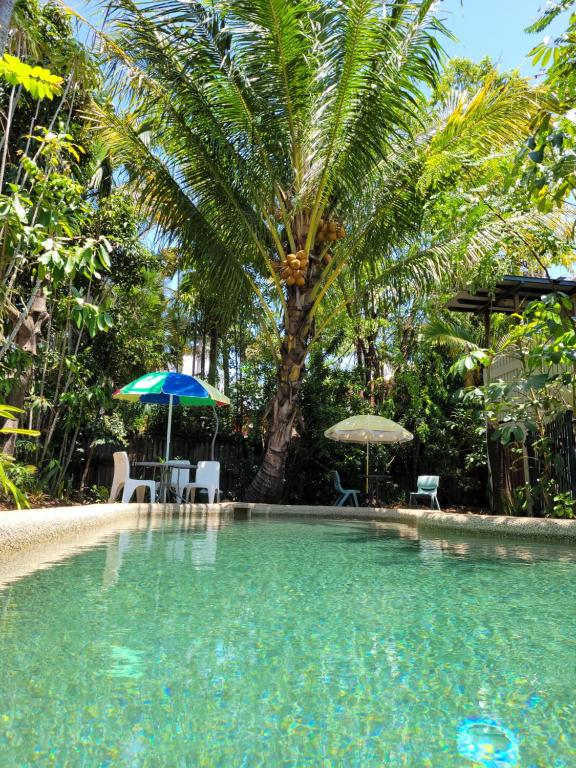The swimming pool at or near Travellers Paradise
