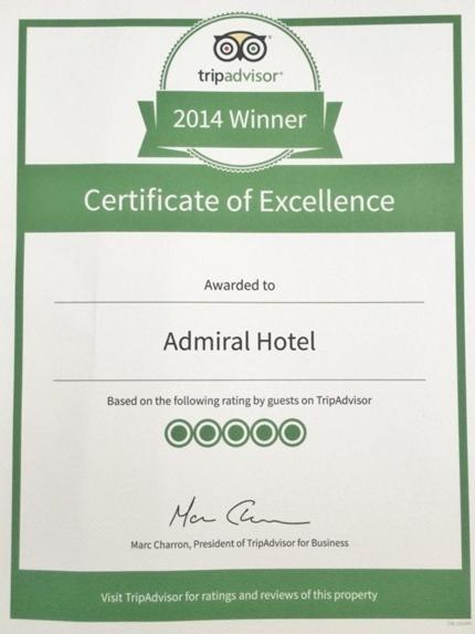 Admiral Hotel - Laterooms