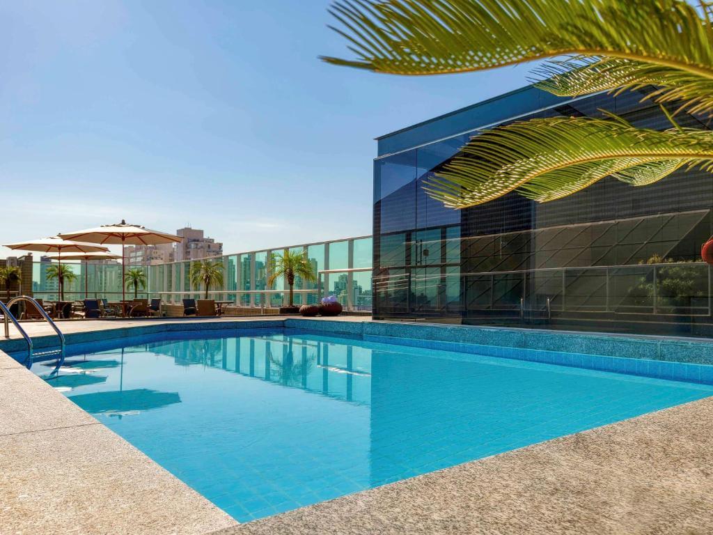 A piscina localizada em Mercure Belo Horizonte Vila da Serra ou nos arredores