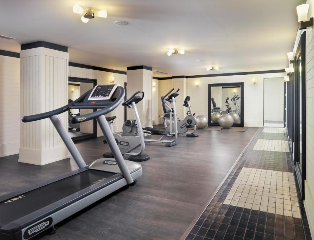 Fitnesscenter och/eller fitnessfaciliteter på Boutique Hotel H10 Big Sur - Adults Only