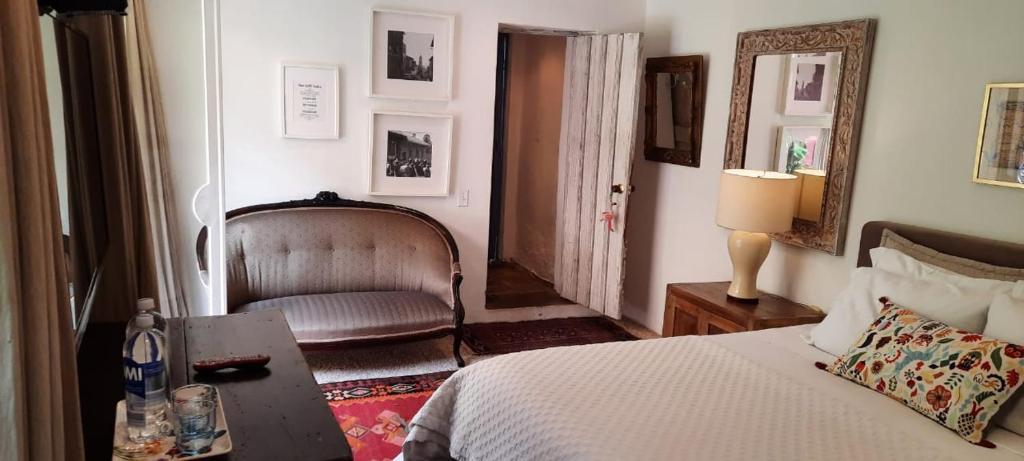 Zona de estar de Candelaria House Boutique