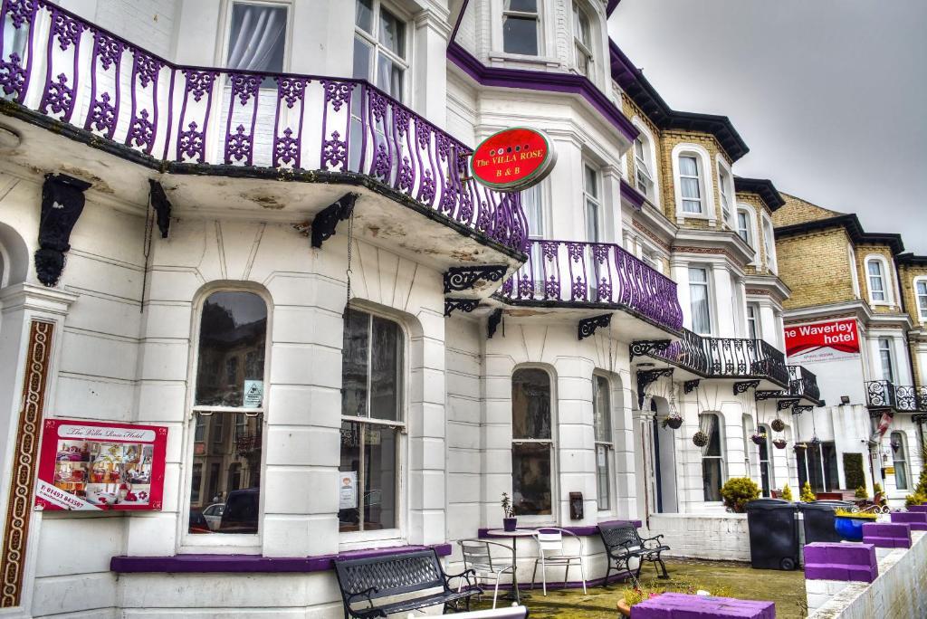 Villa Rose Hotel in Great Yarmouth, Norfolk, England