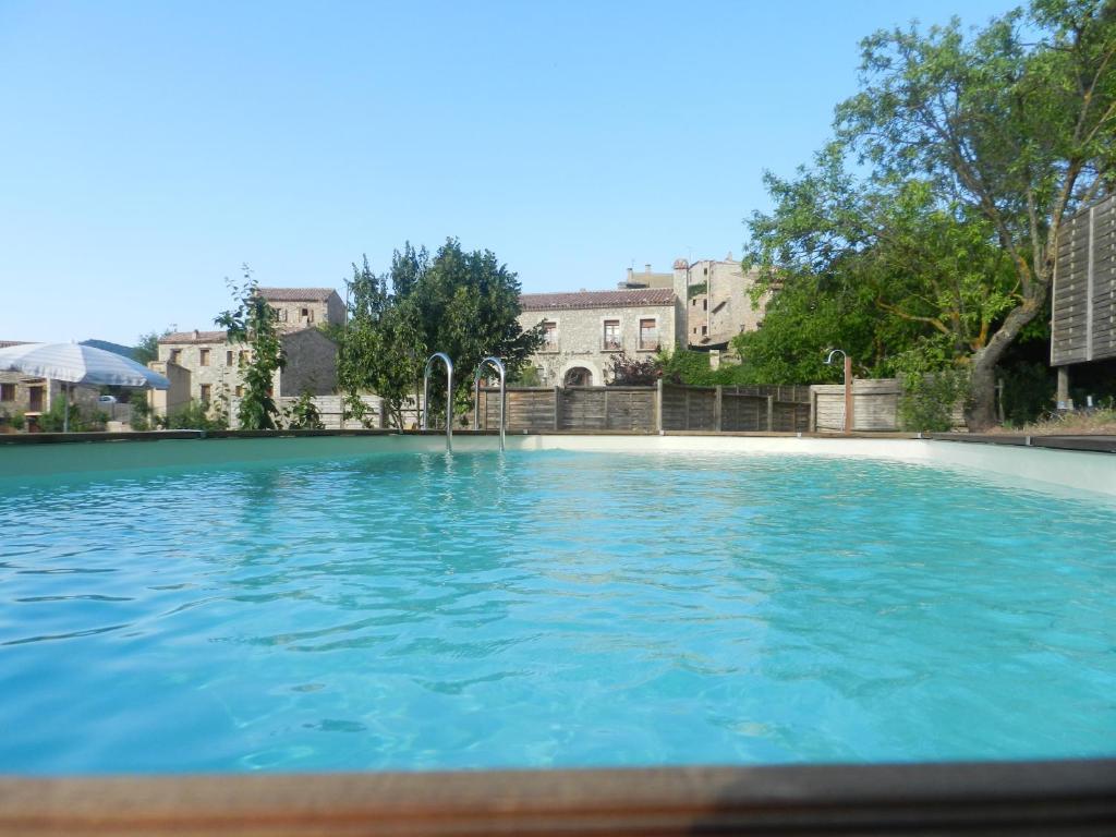 The swimming pool at or near La Siuranella