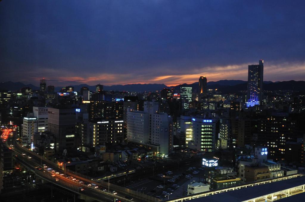A bird's-eye view of Hotel Granvia Hiroshima