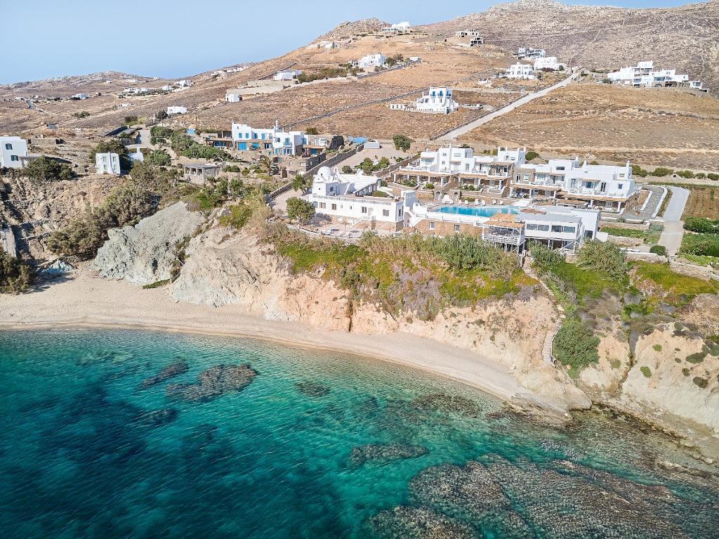 Vue panoramique sur l'établissement Mykonos Star
