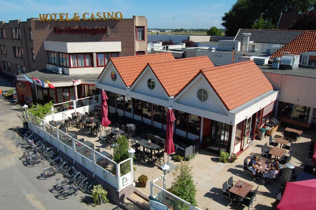 Vista aerea di Hotel Restaurant & Casino De Nachtegaal