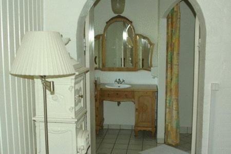 Et badeværelse på Borbjerg Mill Inn
