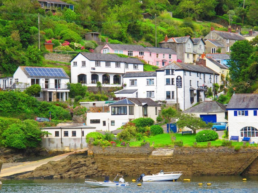 The Old Ferry Inn in Fowey, Cornwall, England