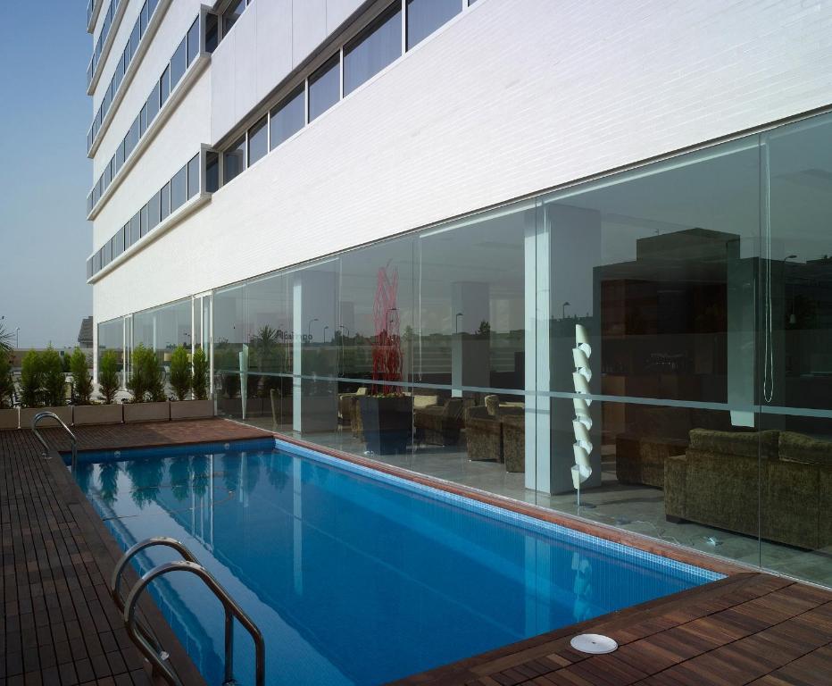 The swimming pool at or near Hotel Xon's Valencia