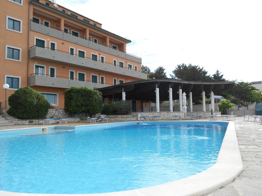 The swimming pool at or near Hotel Santangelo