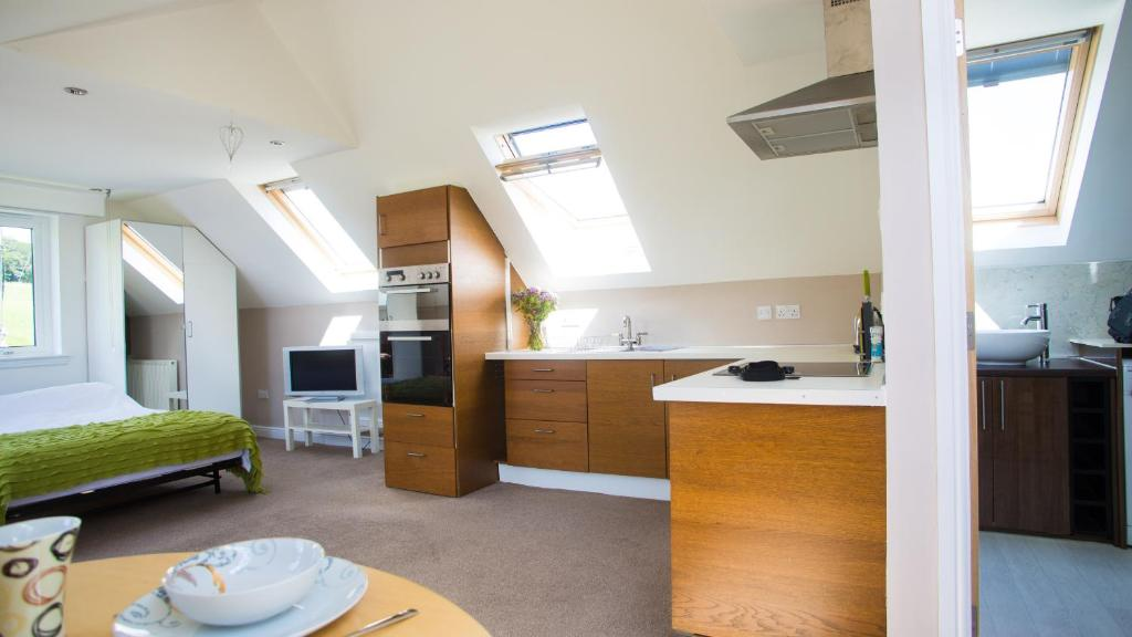 A kitchen or kitchenette at The Mill Studio