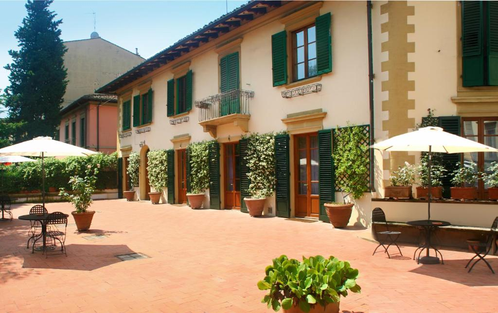 A porch or other outdoor area at Poggio Imperiale Apartments