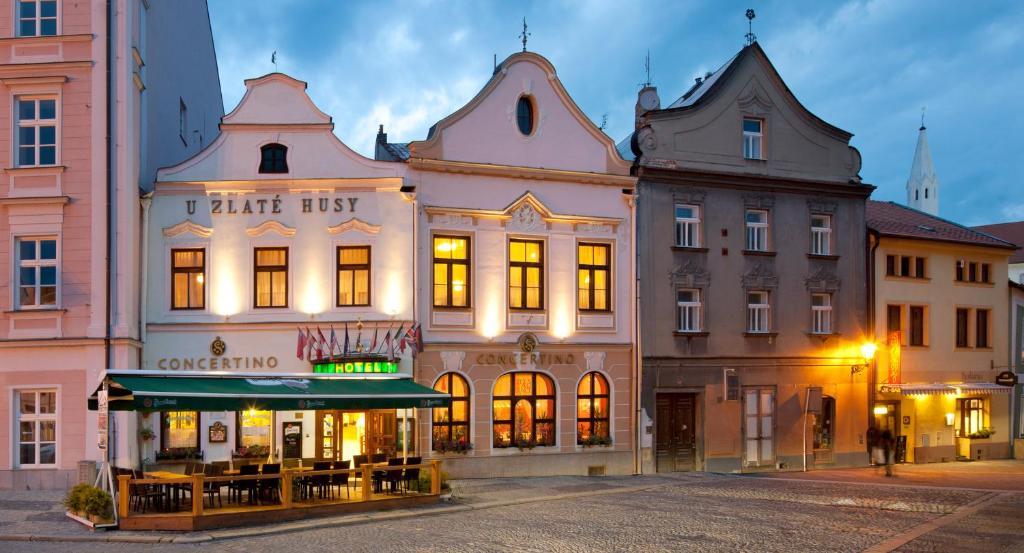 Hotel Concertino Zlata Husa Jindrichuv Hradec, Czech Republic