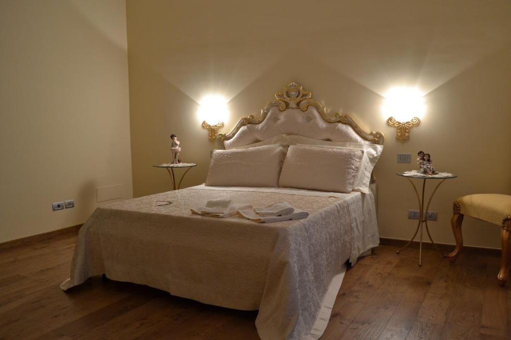 Letto o letti in una camera di Villa D'Anzi B&B