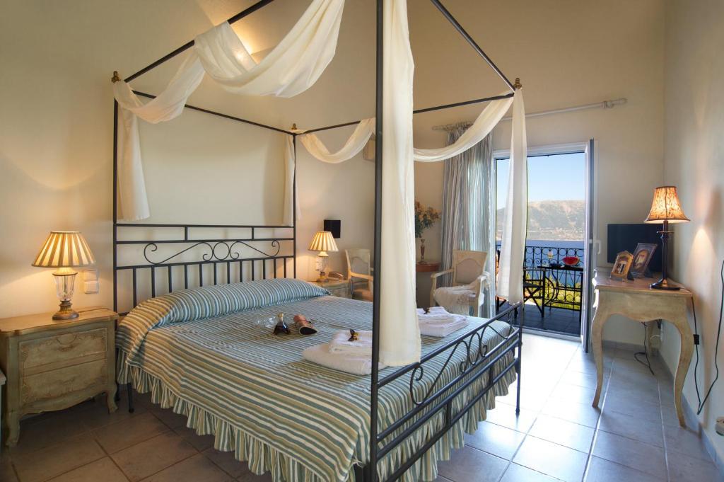 Letto o letti in una camera di Agnantia Bed & Breakfast