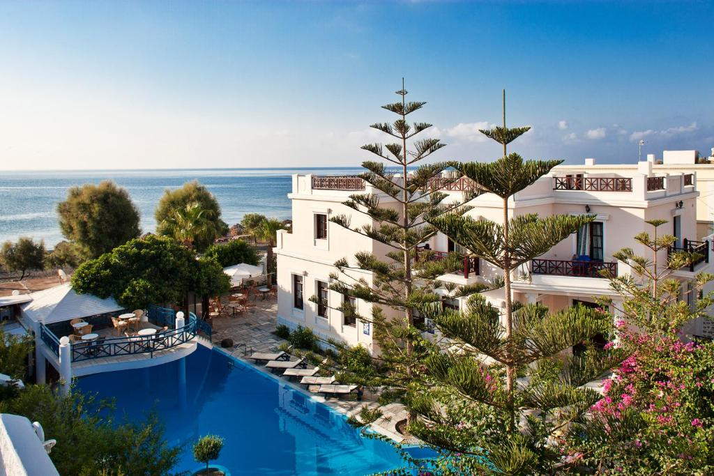 A view of the pool at Veggera Beach Hotel or nearby