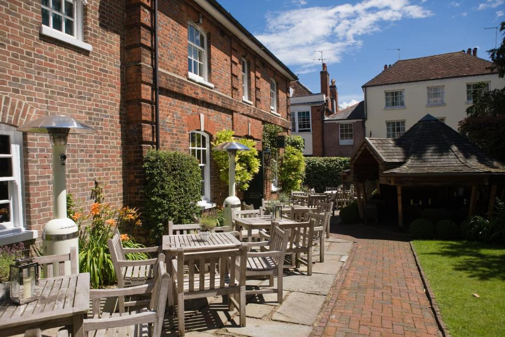 A restaurant or other place to eat at Hotel du Vin Winchester