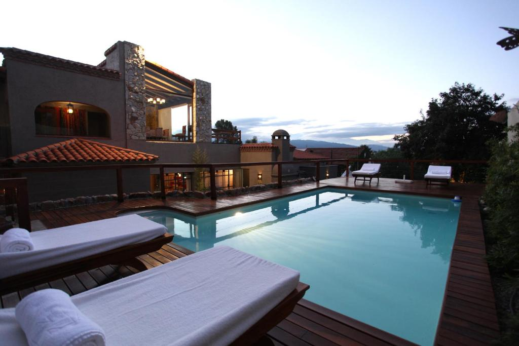 The swimming pool at or near Kkala Boutique Hotel