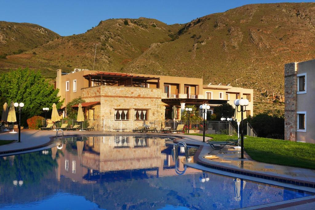 The swimming pool at or near Areti Aparthotel