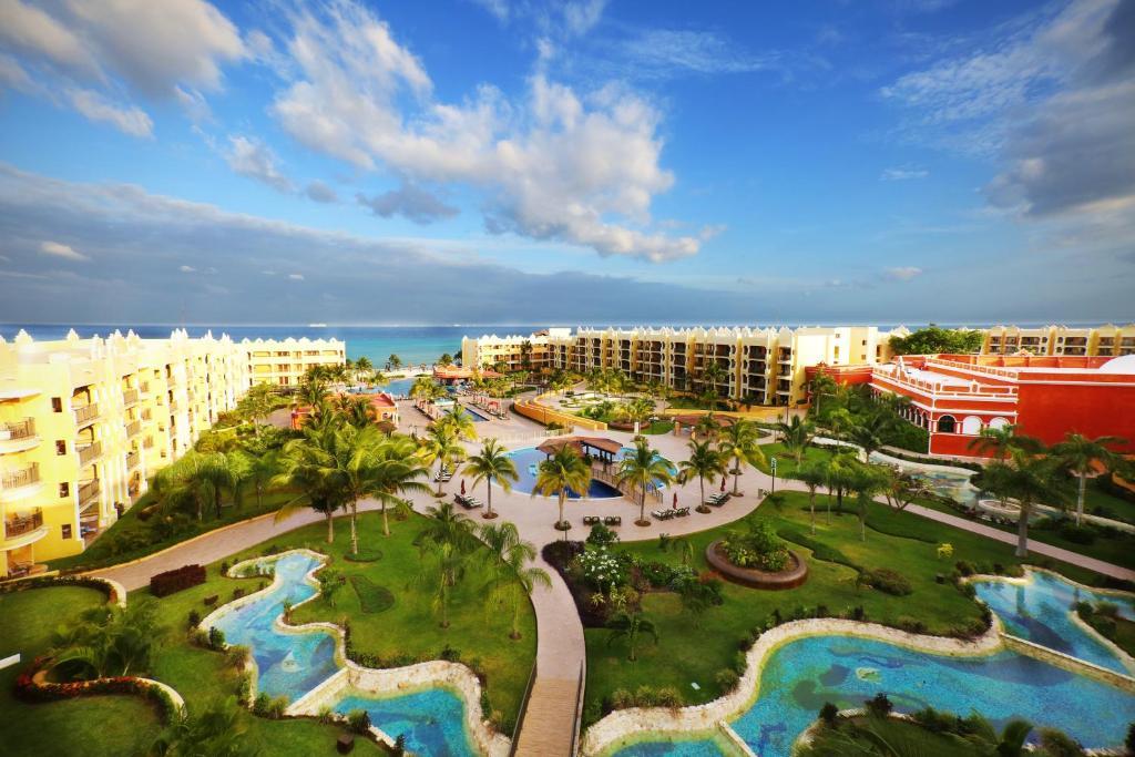 A bird's-eye view of The Royal Haciendas Resort & Spa