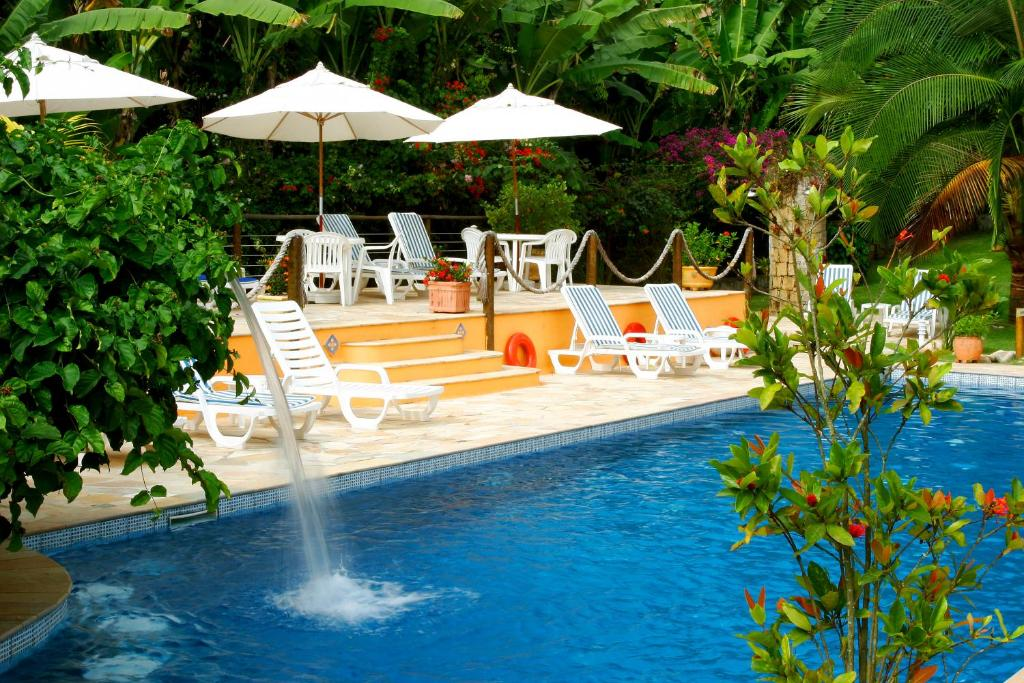The swimming pool at or near Hotel Ilhasol
