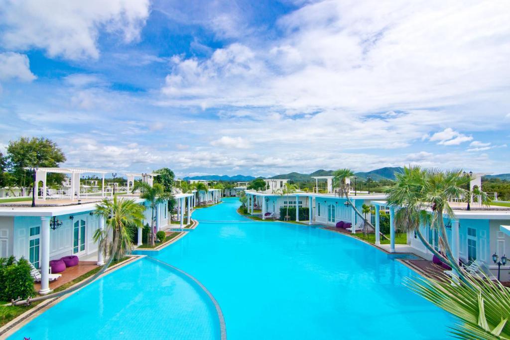 The swimming pool at or near The Sea-Cret Garden Hua Hin