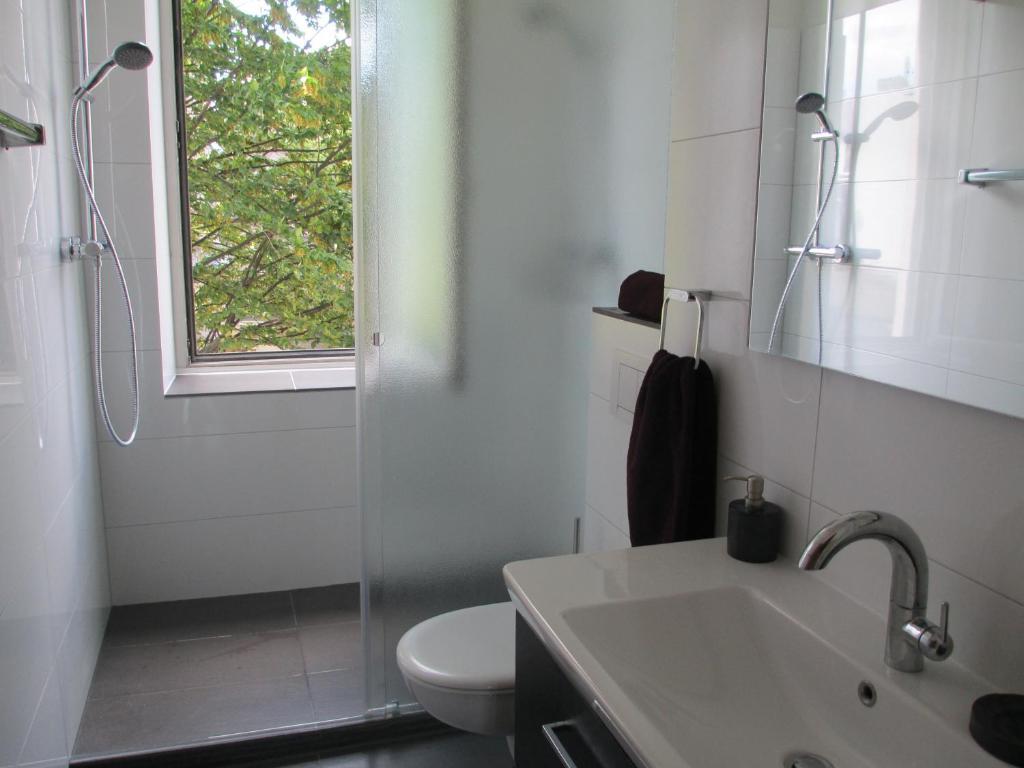 A bathroom at Koelsche Kluengel
