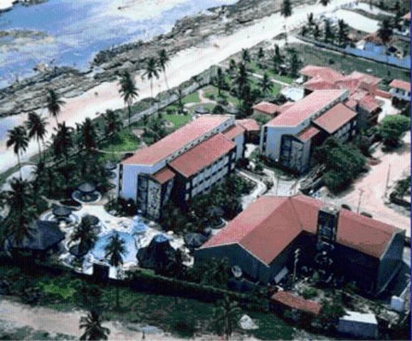 A bird's-eye view of Hotel Canarius D'Gaibu