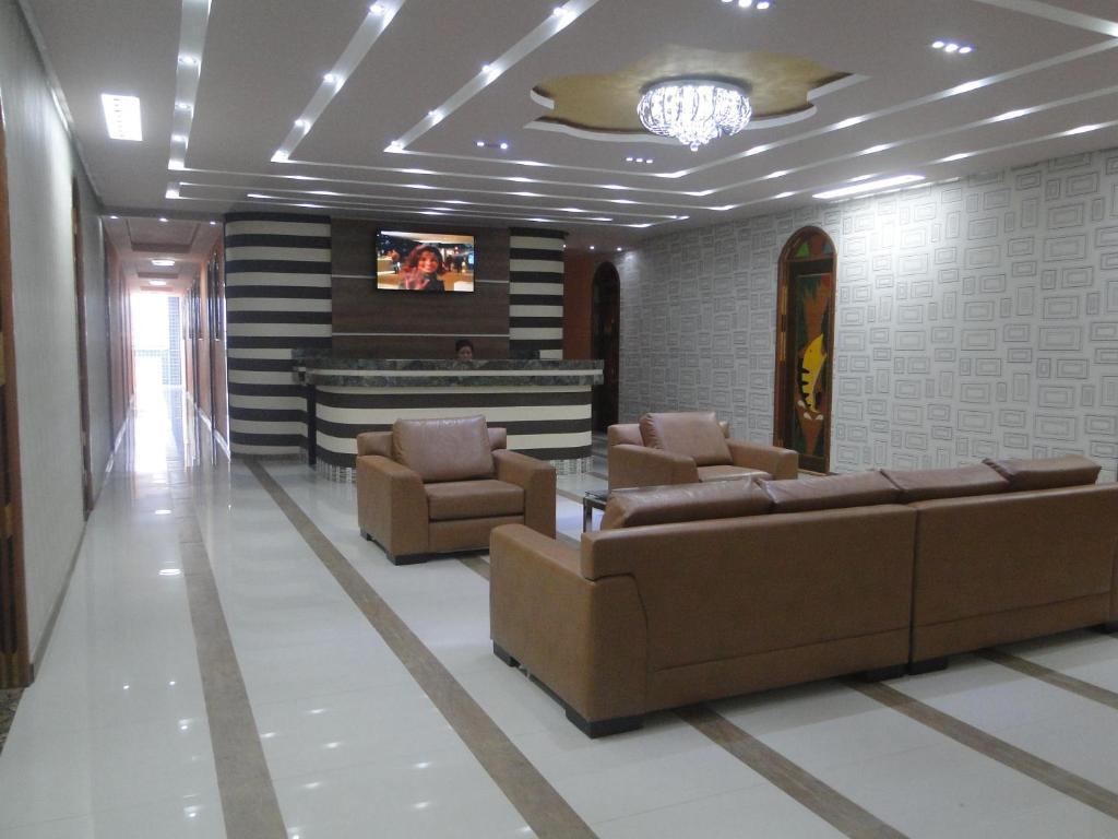 El vestíbulo o zona de recepción de Hotel Farol da Barra
