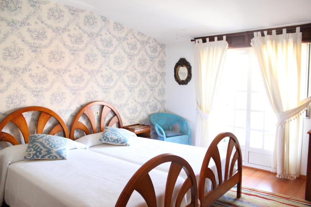 Cama o camas de una habitación en A Traíña
