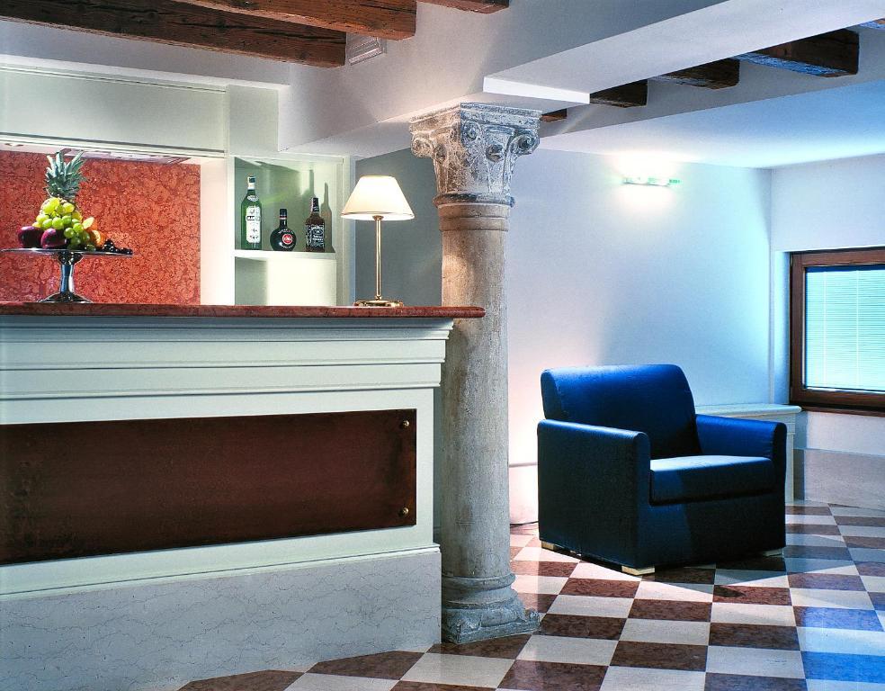 Hall ou réception de l'établissement Hotel Giudecca Venezia
