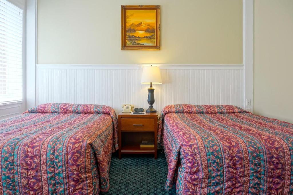 グラント ホテルにあるベッド