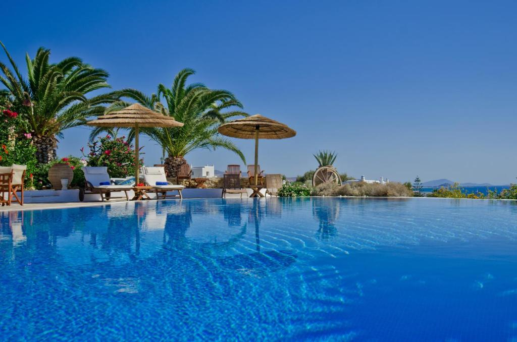 The swimming pool at or close to Kavos Boutique Hotel Naxos