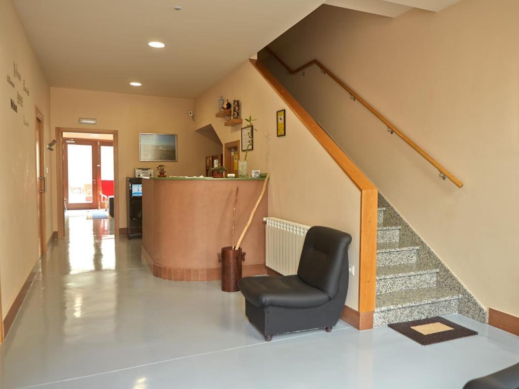 The lobby or reception area at Albergue Pereiro