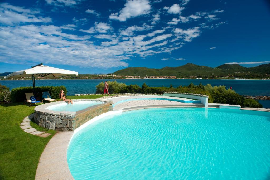 The swimming pool at or near Hotel Palumbalza Porto Rotondo