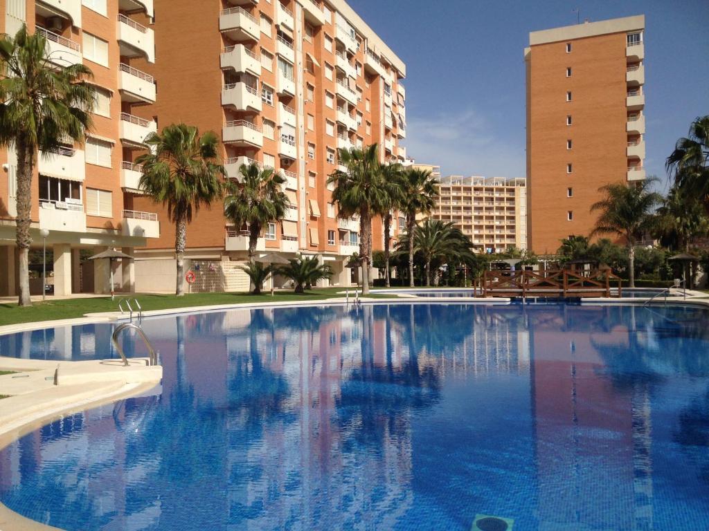 The swimming pool at or near Apartment Playa San Juan