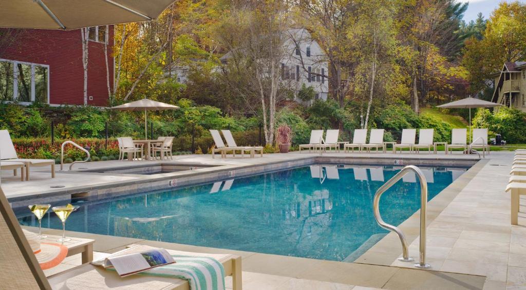 The swimming pool at or near Green Mountain Inn