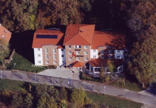A bird's-eye view of Montana Hotel Senden