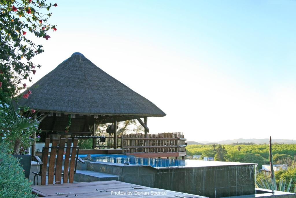 The swimming pool at or near The Overlook