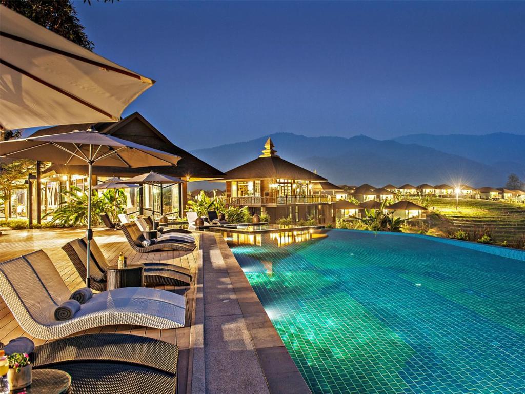 สระว่ายน้ำที่อยู่ใกล้ ๆ หรือใน A-Star Phulare Valley, Chiang Rai