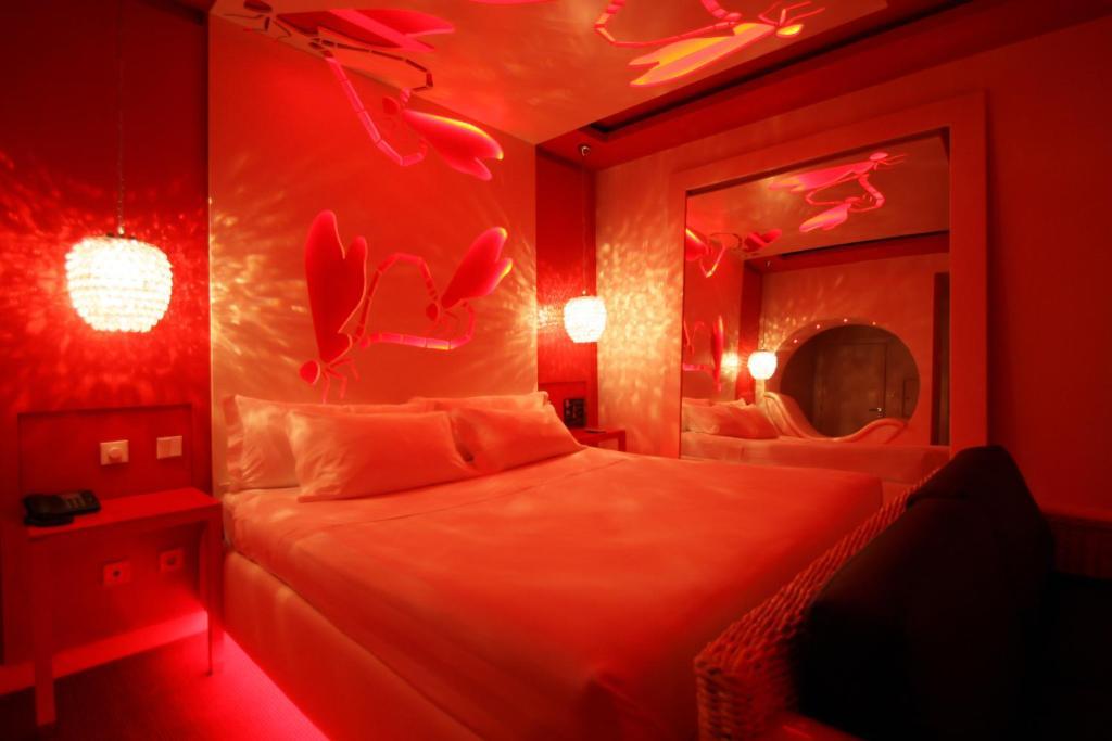 Uma cama ou camas num quarto em Habana Motel