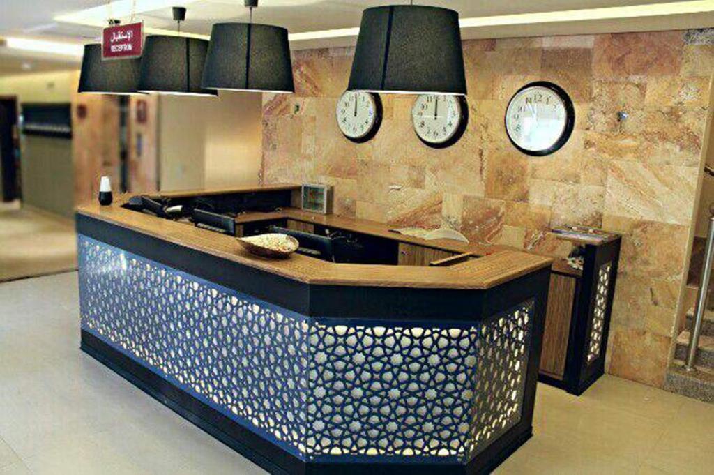 A cozinha ou cozinha compacta de درر رامه للأجنحة الفندقية 8
