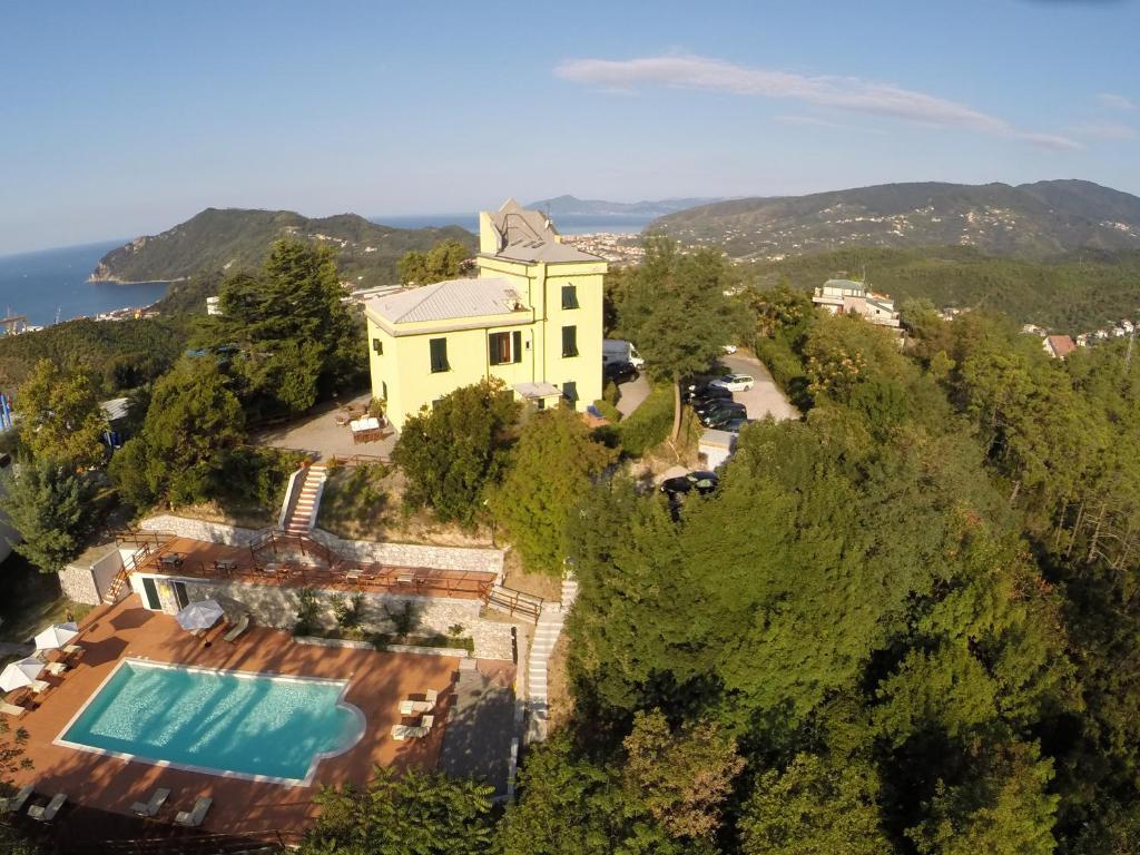A bird's-eye view of Relais San Rocco