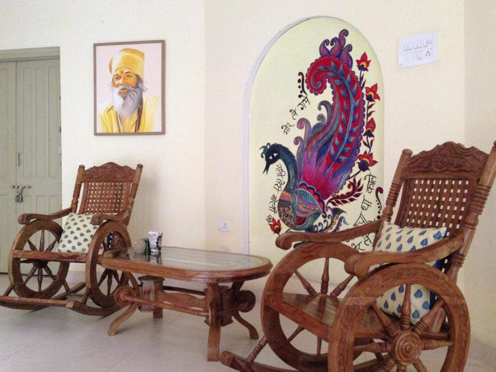 A seating area at Granny's Inn