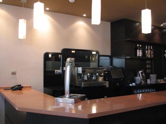 Una cocina o zona de cocina en Hotel Ruta de la Plata de Asturias