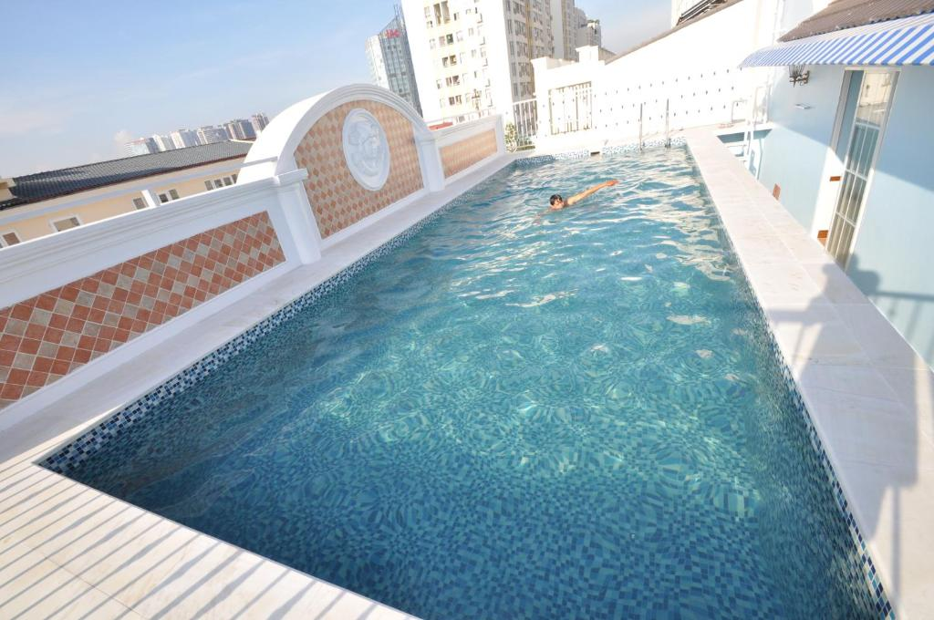 The swimming pool at or near Central Hotel & Residences